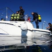 Embarcación de Glups Diving