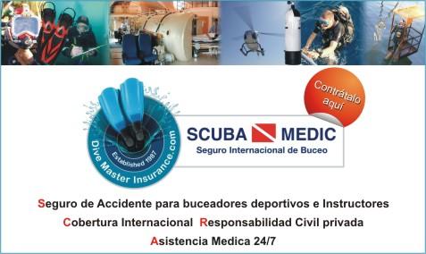 Web banner Scuba Medic español